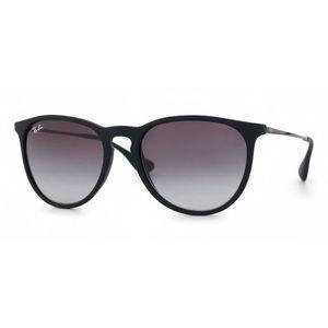 NWOT Ray Ban Black Erika Sunglasses